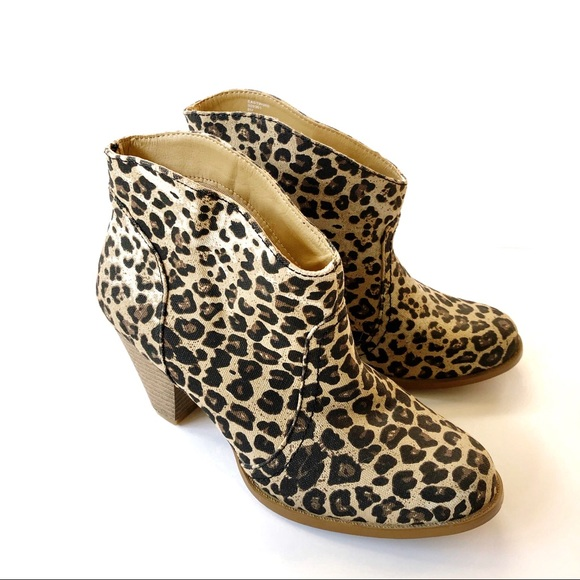 rampage leopard booties shop cbac5 1bf1b